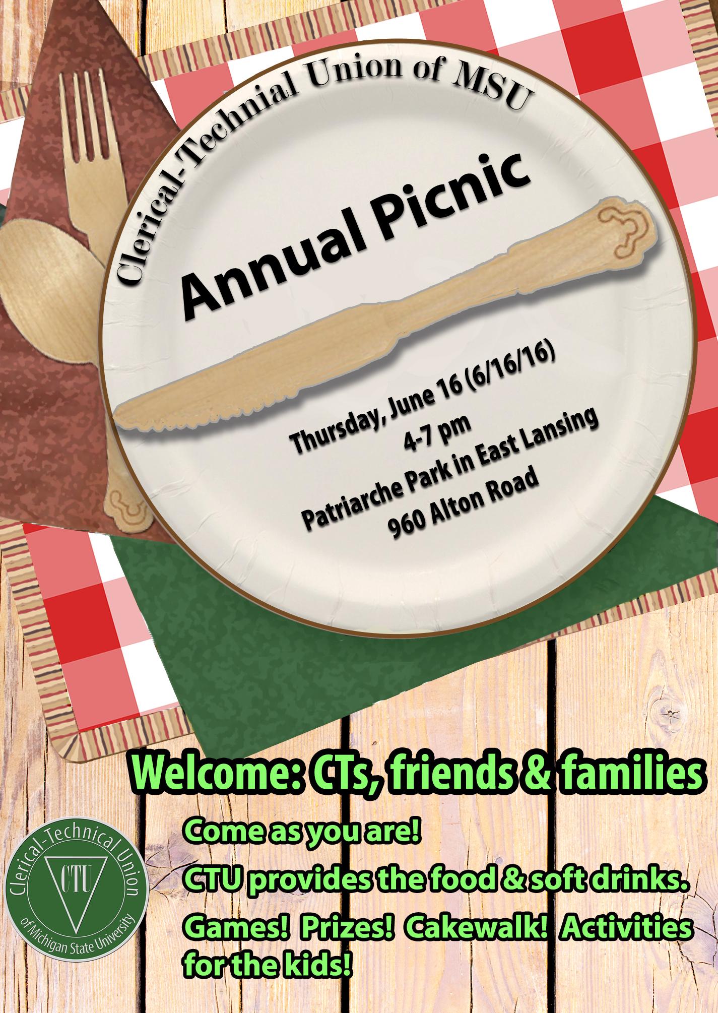 new 2016 ctu picnic