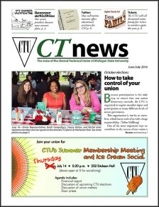 Graphic: June/July CT News cover