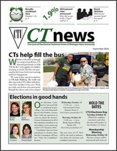 graphic of September 2016 CT News cover